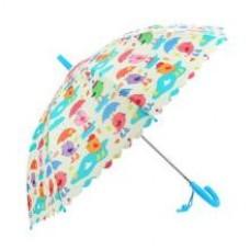 Зонт детский Птички, 48 см, полуавтомат