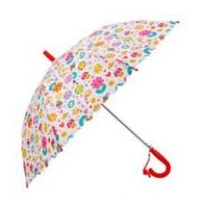 Зонт детский Цветы, 48 см, полуавтомат