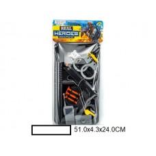 Игр.набор оружия Полиция, пакет 51х4,3х24 см