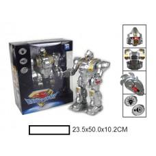 Робот на батар,, свет, звук, кор, 23,5х50х10,2 см