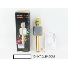 Микрофон муз.на аккум., в ассорт., в кор. 11х7,5х28 см