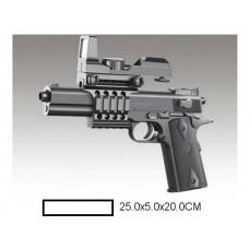 Пистолет детский мех., 25x5x20 см, пакет.