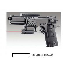 Пистолет детский мех., 25x5x15 см, пакет