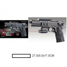 Пистолет детский мех., 27x5x17 см, кор.
