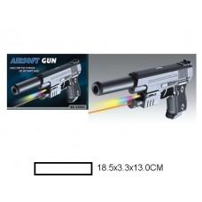 Пистолет детский мех., 18,5x3,3x13 см, кор.