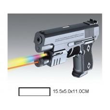 Пистолет детский мех., 15,5x5x11 см, пакет.