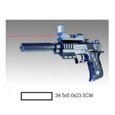 Пистолет детский мех., 34,5x5x23,5 см, пакет.