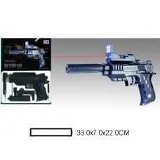 Пистолет детский мех., 33x7x22 см, кор.