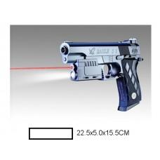 Пистолет детский мех., 22,5x5x15,5 см, пакет.