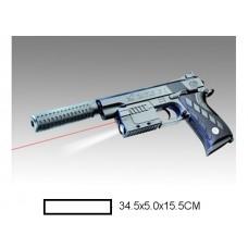 Пистолет детский мех., 34,5x5x15,5 см, пакет.