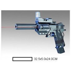 Пистолет детский мех., 32,5x5x24 см, пакет.
