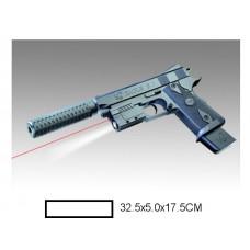Пистолет детский мех., 32,5x5x17,5 см, пакет.