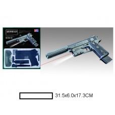 Пистолет детский мех., 31,5x6x17,3 см, кор.