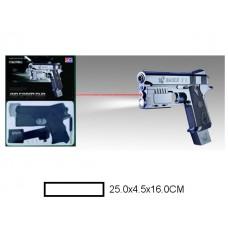 Пистолет детский мех., 25x4,5x16 см, кор.