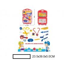 Детский набо доктора в чемоданчике, блистер 23,5х39х5 см