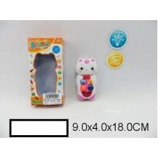 """Детский телефон """"Животные"""", кошка, на батар,, свет, звук, кор, 9х4х18 см"""