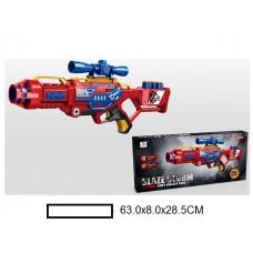 Бластер детский с мягкими пулями, 20 м/пуль, кор, 63х8х28,5 см