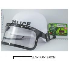 Детская каска Полицейского, в сетке 12,5х14х19 см
