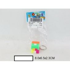Игрушка-головоломка кубик малый,  в пакете 8х6,5х2,3 см