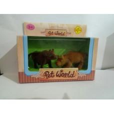 Животные флок, 2 теленка, коробка