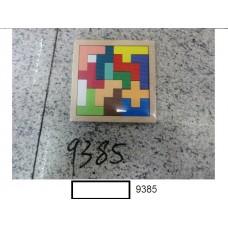 Игрушка вкладыш-мозайка дер.,в ассорт., под пленкой 14,5х14 см