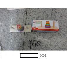 """Вкладыш дер., """"Пирамидка"""", кор. 18,5х7,5х6,5 см"""