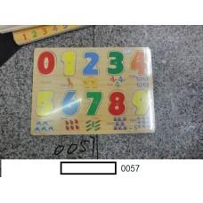 Игрушка вкладыш дер.,в ассорт., под пленкой 21,5х29,5 см