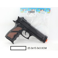 Пистолет трещётка, пакет 25х15х3 см