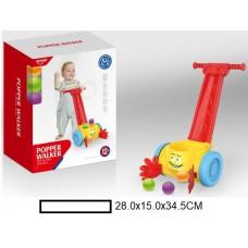 Игрушка-каталка на палочке с шариками, в кор. 28х15х34,5 см