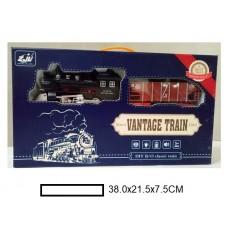 Железная дорога на батар., в кор. 38х21,5х7,5 см
