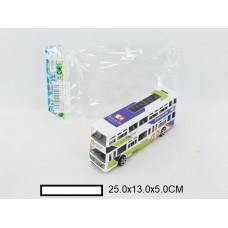 Автобус инерционный, пакет 25х13х5 см