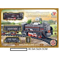 Железная дорога на батар., в кор. 36,5х4,5х24,5 см