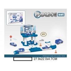 """Набор Парковка """"Police"""" , в кор. 28х22х4,7 см"""