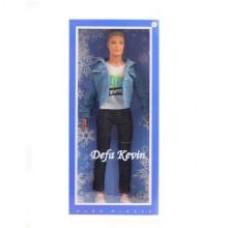 Кукла Defa Kevin Юноша в джинс. куртке, кор.