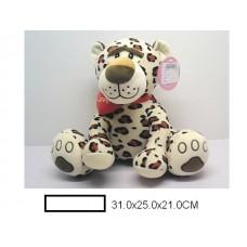 Игр.мягк. Леопард, в ассорт., пакет 31х25х21 см