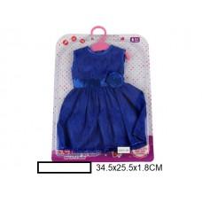 Набор одежды для куклы в ассорт., на листе 35х26х1,8 см