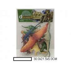 Набор фигурок динозавров, пакет.