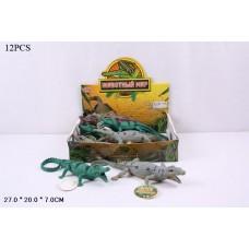 Набор фигурок крокодилов в ассорт., 12шт в кор.