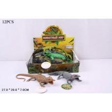 Набор фигурок ящериц в ассорт., 12 шт. в кор.