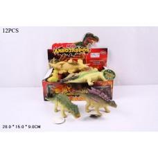 Набор фигурок динозавров в ассорт., 12 шт. в кор.