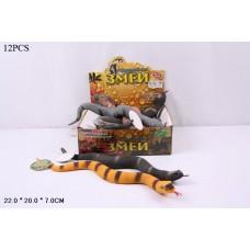 Набор фигурок змеи в ассорт., 12 шт. в кор.