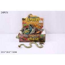 Набор фигурок змеи в ассорт., 24 шт. в кор.