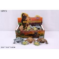 Набор фигурок лягушек в ассорт., 18 шт. в кор.