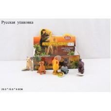 Набор фигурок домашних животных в ассорт., 12 шт. в кор.
