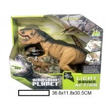 Динозавр электрофицированный, р/у, в кор.